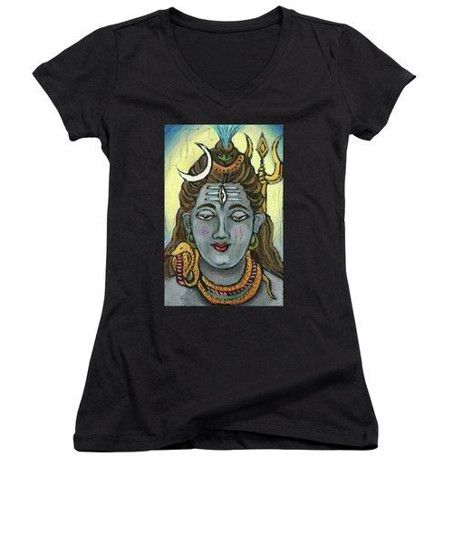 Shiva Women's V-Neck (Athletic Fit)