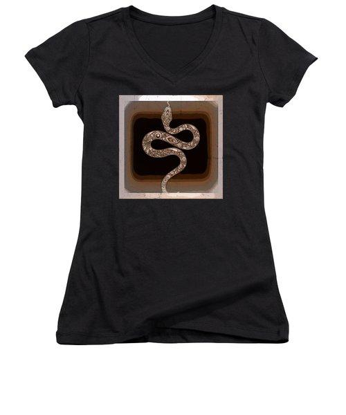 Snake Women's V-Neck