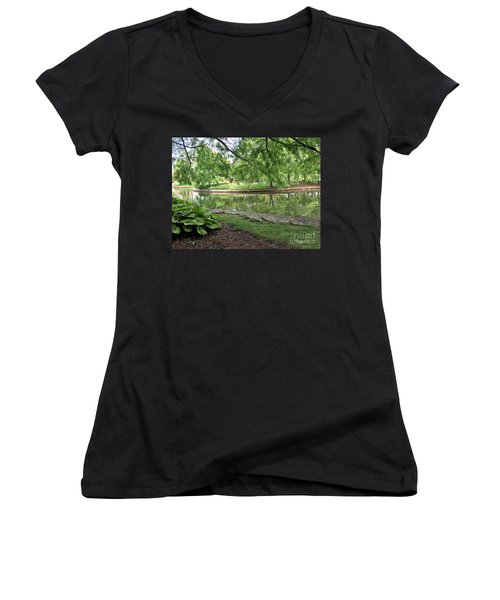 So Still Women's V-Neck T-Shirt
