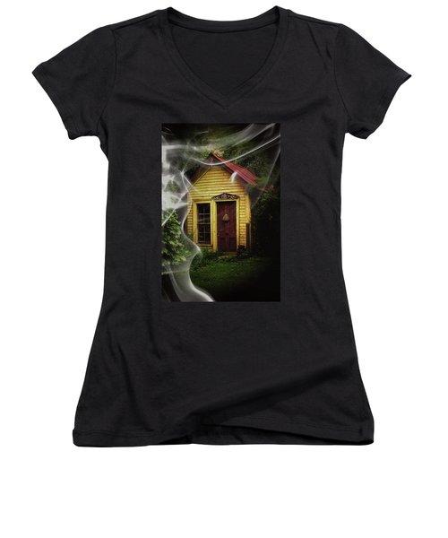 Swept Away Women's V-Neck T-Shirt