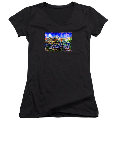 That Night Women's V-Neck (Athletic Fit)