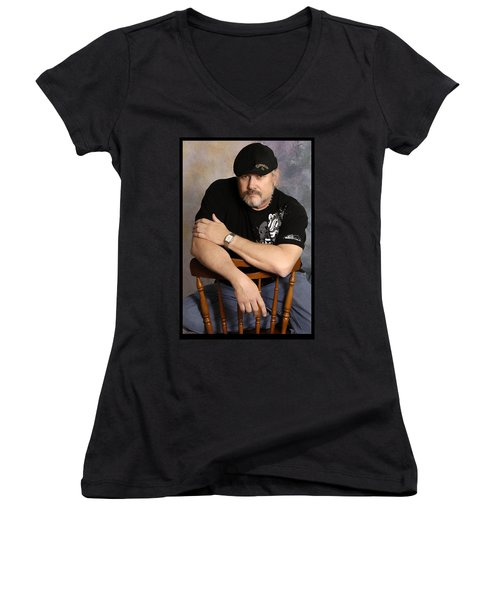 The Artist Women's V-Neck (Athletic Fit)