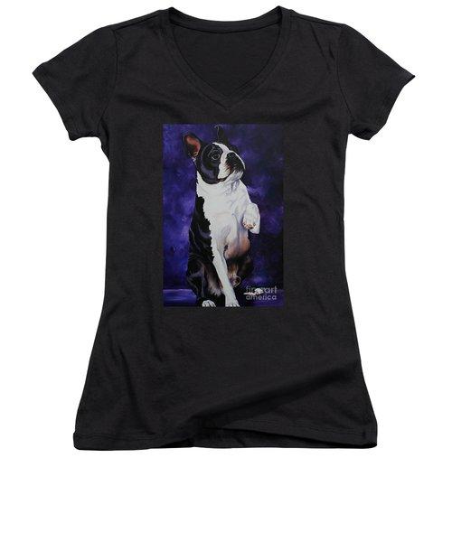 Wave Women's V-Neck T-Shirt