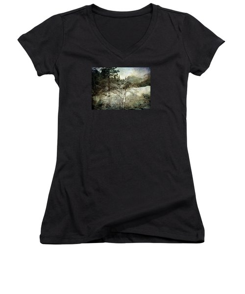 Winter Mood Women's V-Neck T-Shirt