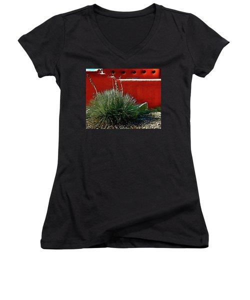 Yucca And Adobe Women's V-Neck