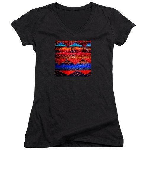 105 Women's V-Neck T-Shirt