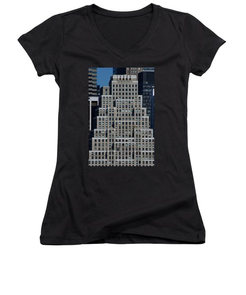 120 Wall Street Nyc Women's V-Neck