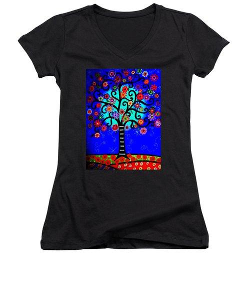Tree Of Life Women's V-Neck