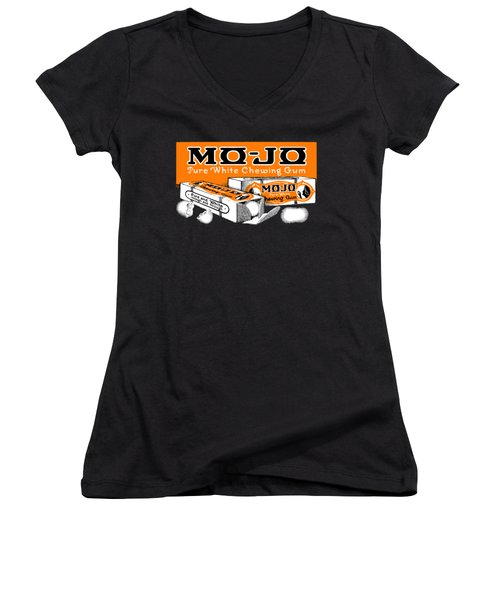 1915 Mo Jo Chewing Gum Women's V-Neck (Athletic Fit)