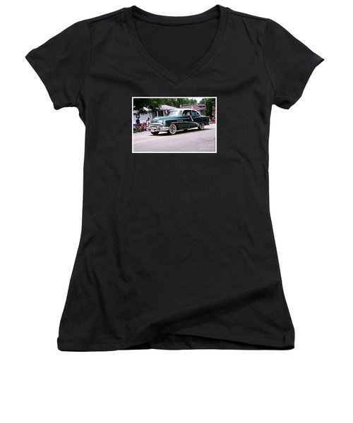 1953 Buick Special Women's V-Neck (Athletic Fit)