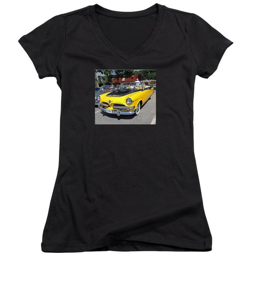 1955 Dodge Royal Lancer Women's V-Neck T-Shirt