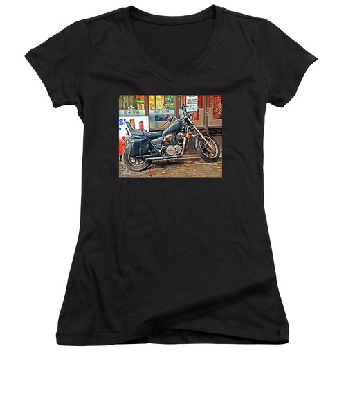 1983 Vt750 C Honda Shadow Women's V-Neck (Athletic Fit)