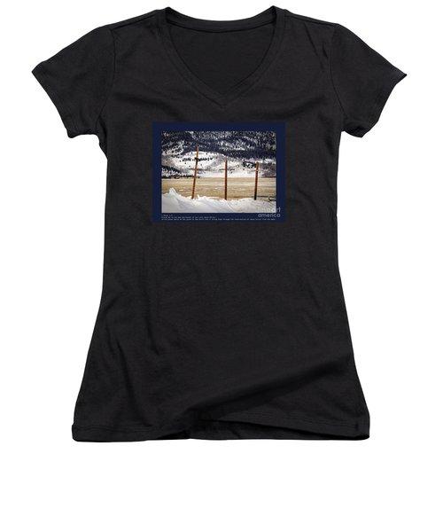 1st Peter Women's V-Neck T-Shirt