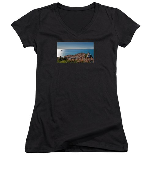 Piran Women's V-Neck T-Shirt