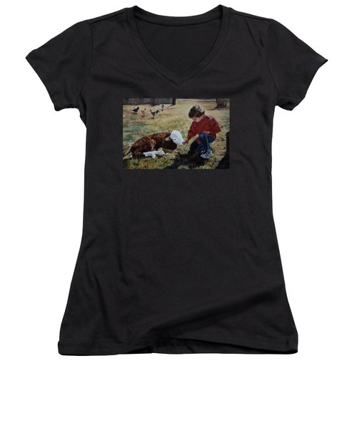 20 Minute Orphan Women's V-Neck (Athletic Fit)