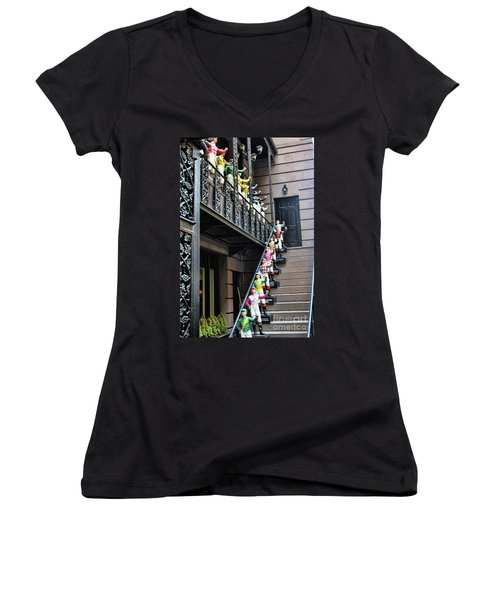 21 Club Nyc Women's V-Neck