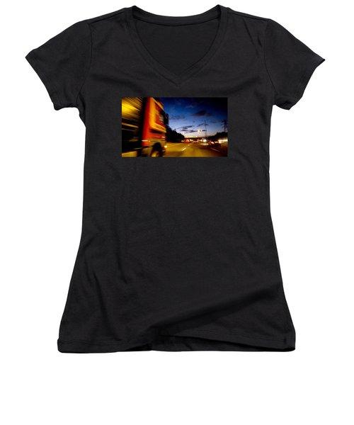 ... Women's V-Neck T-Shirt (Junior Cut) by Mariusz Zawadzki