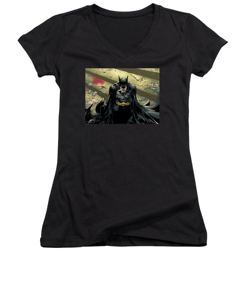 Batman Women's V-Neck