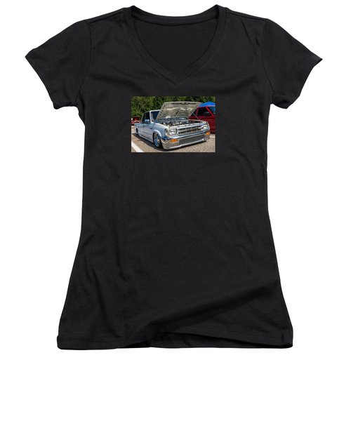 Hall County Sheriffs Office Show And Shine Car Show Women's V-Neck (Athletic Fit)