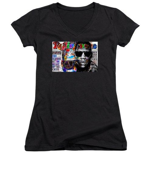 Jay Z Collection Women's V-Neck T-Shirt