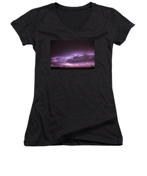 6th Storm Chase 2015 Women's V-Neck