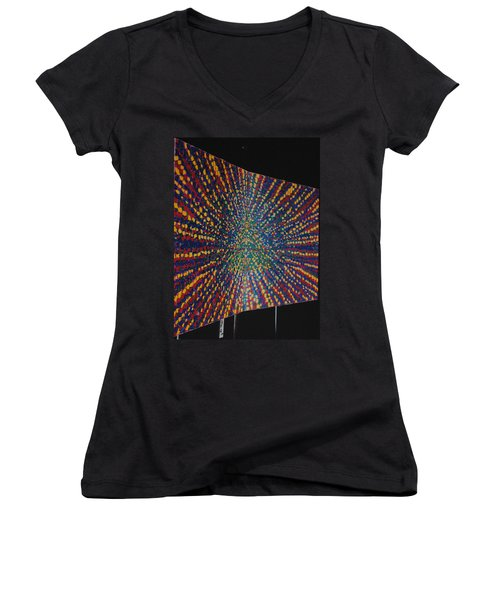 Butterfly Dream Women's V-Neck T-Shirt (Junior Cut) by Kyung Hee Hogg