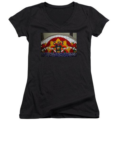 Calle Ocho Cuban Festival Miami Women's V-Neck T-Shirt