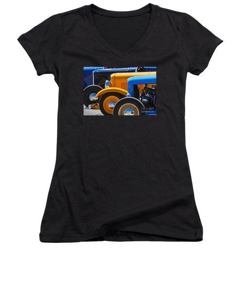 '32 X 3 Women's V-Neck T-Shirt