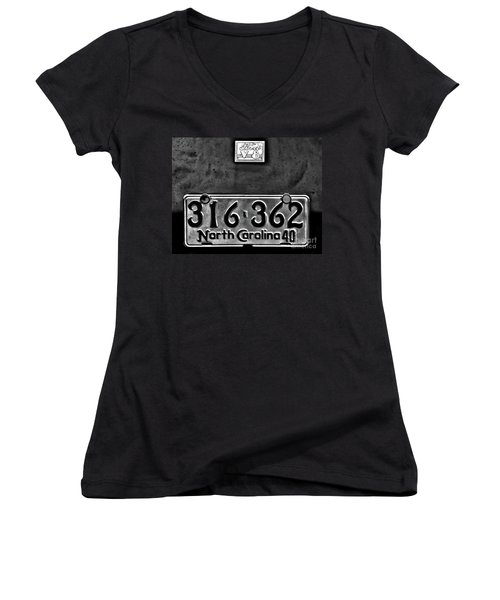 40 Ford Women's V-Neck (Athletic Fit)
