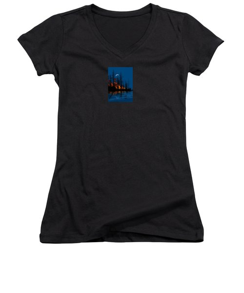 4040 Women's V-Neck T-Shirt