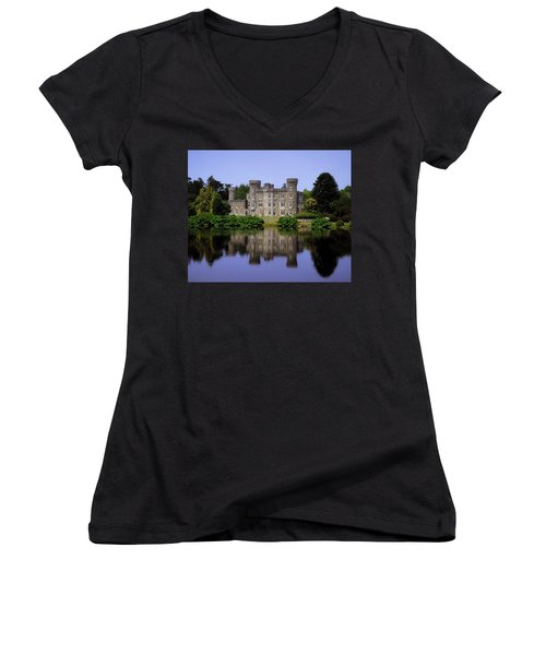 Johnstown Castle, Co Wexford, Ireland Women's V-Neck T-Shirt