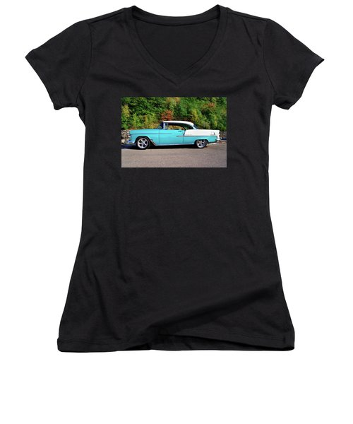 55 Belair Women's V-Neck T-Shirt