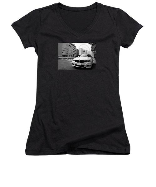 BMW Women's V-Neck