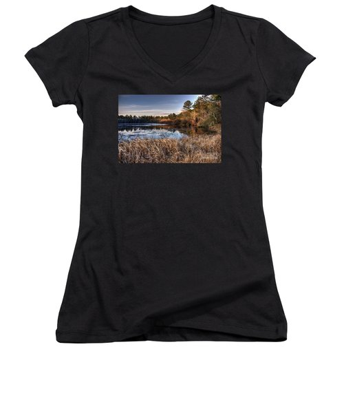 Flint Creek Women's V-Neck (Athletic Fit)