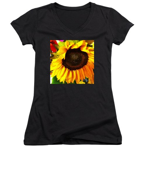Instagram Photo Women's V-Neck (Athletic Fit)