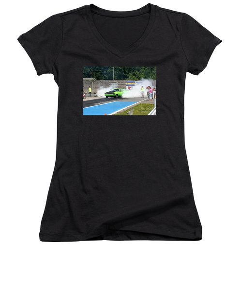 8838 06-15-2015 Esta Safety Park Women's V-Neck (Athletic Fit)