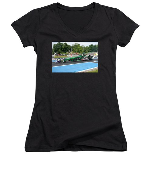 8886 06-15-2015 Esta Safety Park Women's V-Neck (Athletic Fit)
