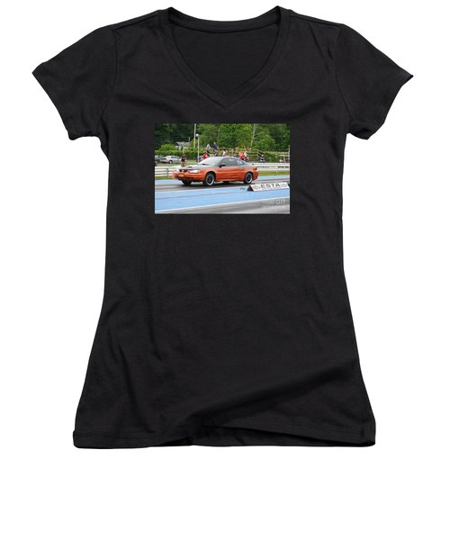 9088 06-15-2015 Esta Safety Park Women's V-Neck (Athletic Fit)