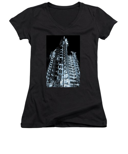 Lloyd's Building London Women's V-Neck T-Shirt