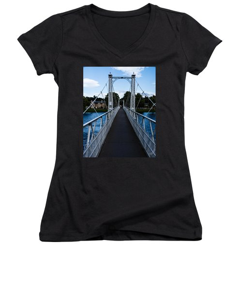A Bridge For Walking Women's V-Neck
