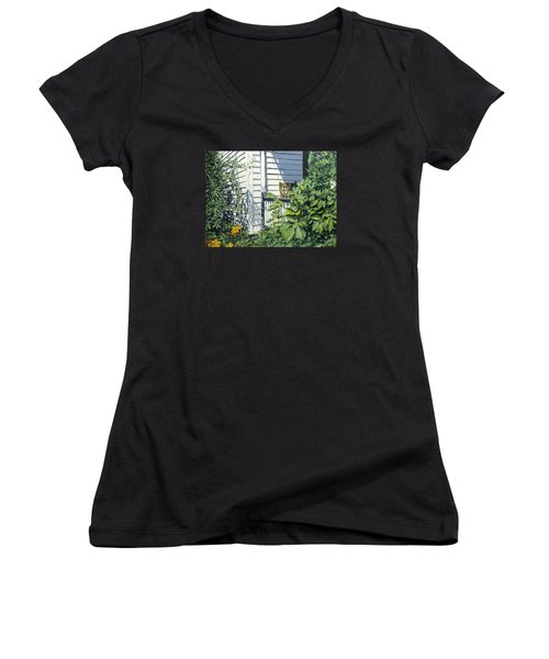 A Corner Of Summer Women's V-Neck