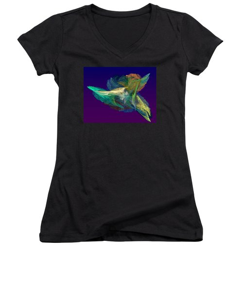 A Fleeting Moment Women's V-Neck (Athletic Fit)