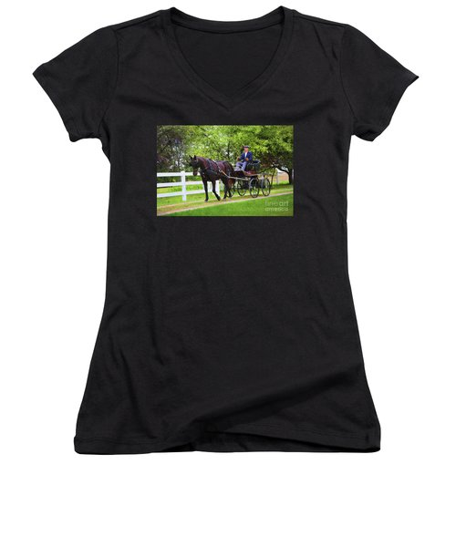 A Gentleman's Sunday Ride Women's V-Neck