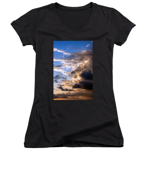 a Good Morning Women's V-Neck (Athletic Fit)