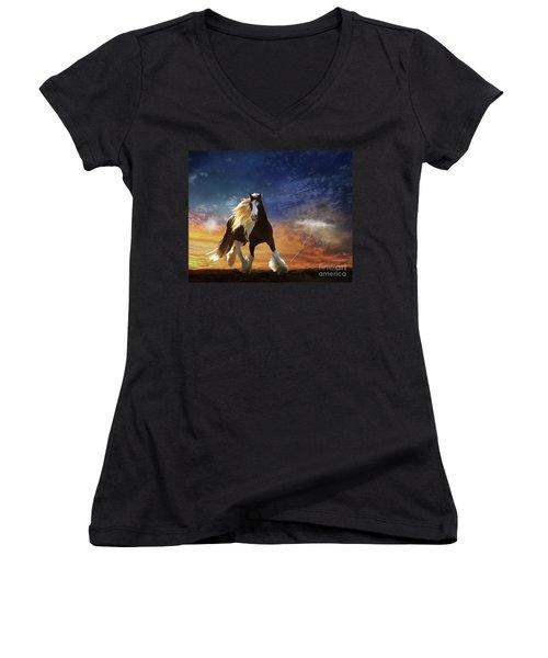 A Gypsy Storm Women's V-Neck T-Shirt