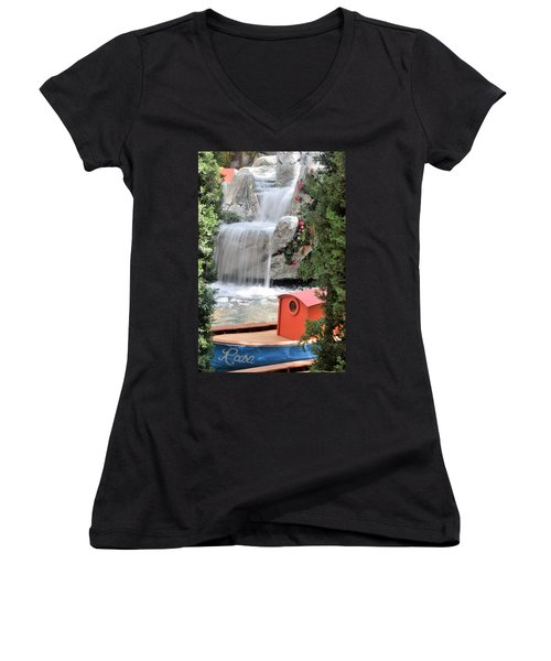A Lady Named Rosa Women's V-Neck (Athletic Fit)