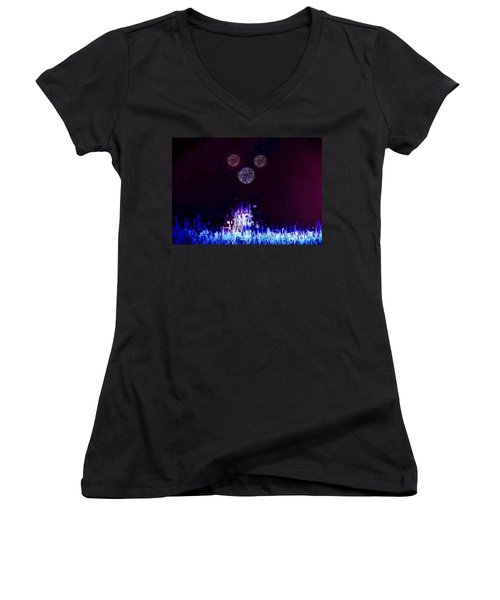 A Magical Night Women's V-Neck