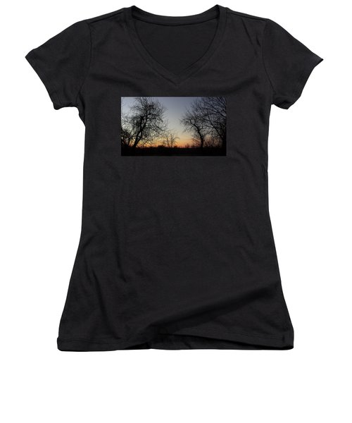 A New Day Dawning Women's V-Neck