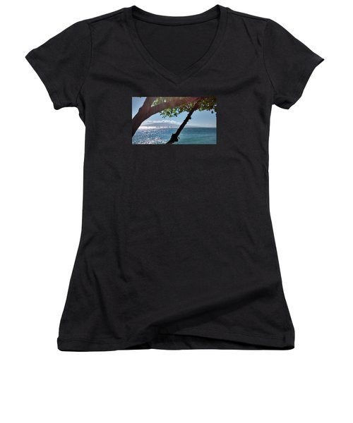 A Place To Stay Women's V-Neck T-Shirt