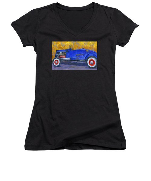 A Rod Women's V-Neck